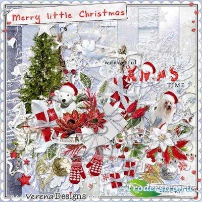 Рождественнский скрап-набор - Веселое Рождество