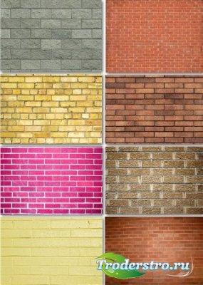 Растровые фоны - Кирпичные стены