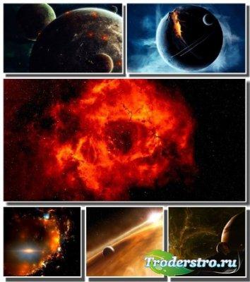 Огромные просторы вселенной на обоях для монитора (Часть 5)