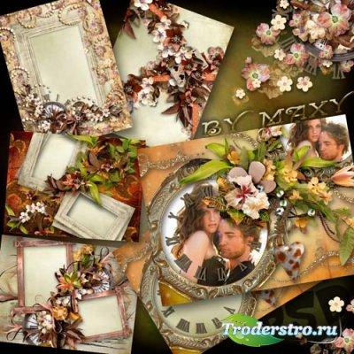Рамки для фото - Осенняя любовь