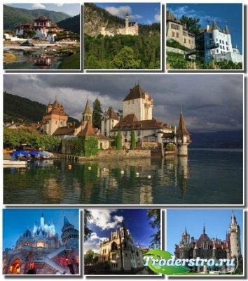 Подборка обоев с величественными замками разных стран