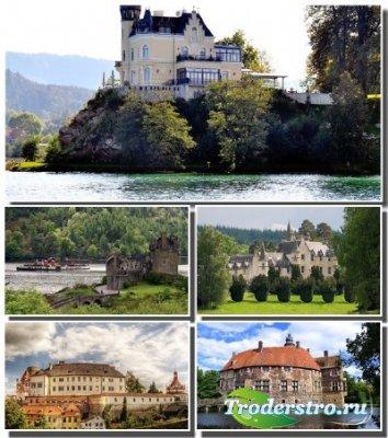 Подборка обоев с величественными замками разных стран (Часть 2)