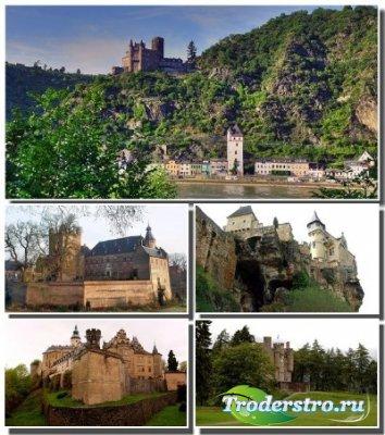 Подборка обоев с величественными замками разных стран (Часть 5)