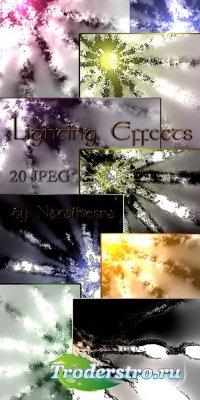 Текстуры, фоны -  Световые эффекты