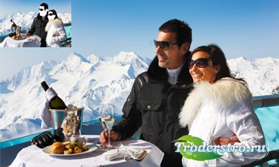Шаблон парный - Отдых в Альпах