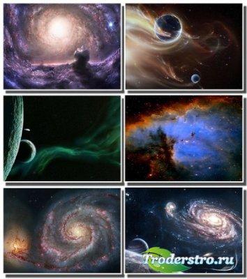 Огромные просторы вселенной на обоях для монитора (Часть 6)