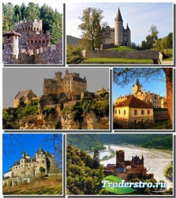 Подборка обоев с величественными замками разных стран (Часть 7)