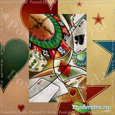 PSD Исходники - Казино: Рулетка, Игральные Карты, Кости