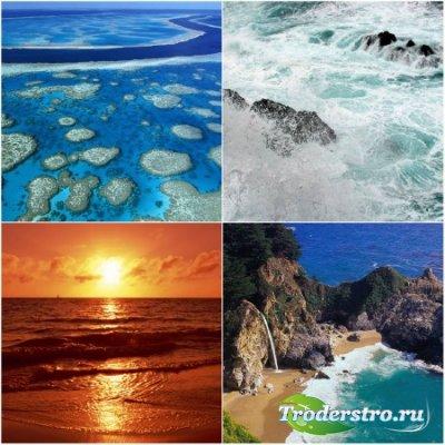 Прекрасные морские пейзажи - 315 шт