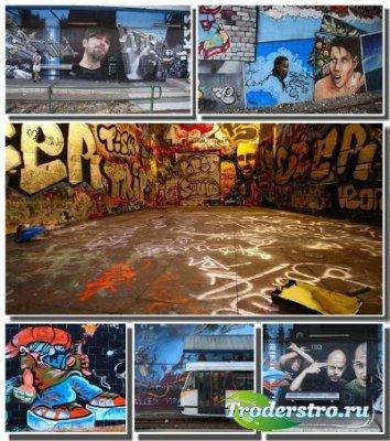 Сборник граффити обоев и картинок для украшения рабочего стола