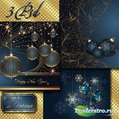 PSD исходники - Новогодняя история 21
