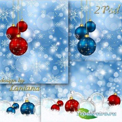 PSD исходники - Новогодняя история 22
