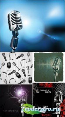 Микрофоны (Вектор)