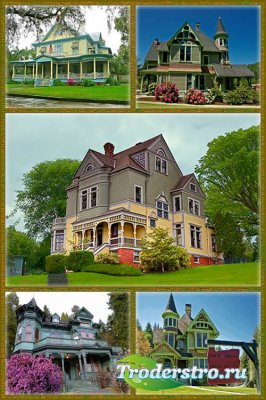 Викторианские дома штата Орегон - USA