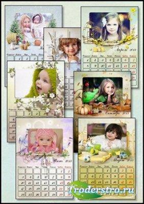 Перекидной календарь на 2013 год - Исполнения всех желаний в новом году