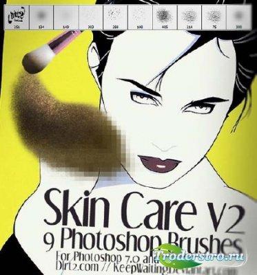 Кисти коррекция макияжа