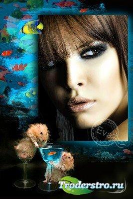 Фоторамочка - Поймай рыбку, загадай желание
