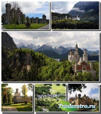 Подборка обоев с величественными замками разных стран (Часть 9)