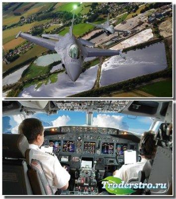 Современная авиация на обоях для рабочего стола