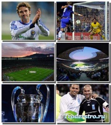 Качественная подборка обоев для фанатов футбола