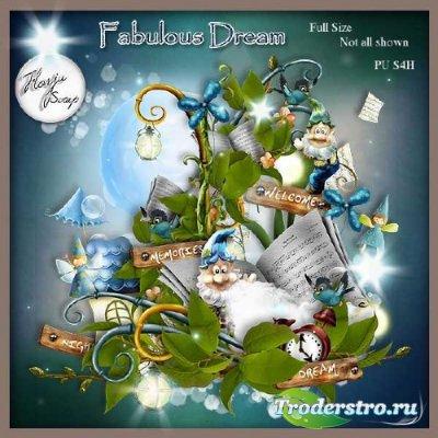 Сказочный детский скрап-набор - Невероятная Мечта