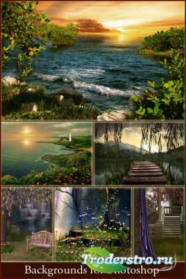 Фоны для фотошопа - Сказочные места 2