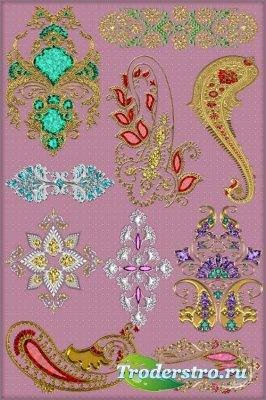 Клипарт - Декоративные орнаменты