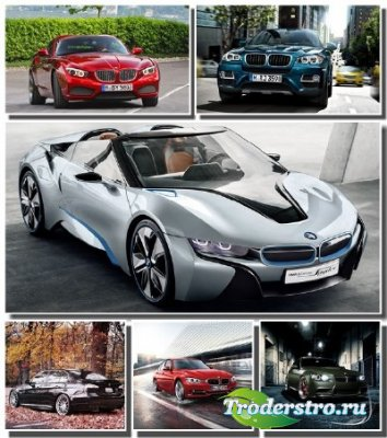 Автомобили марки BMW на обоях для рабочего стола