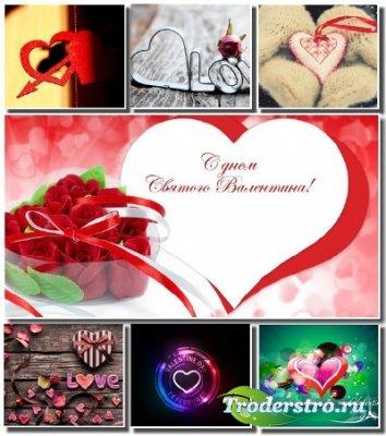 Подборка праздничных обоев ко дню Святого Валентина