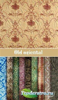 Набор старых текстур в восточном стиле