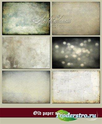 Старые бумажные листы (коллекция текстур)