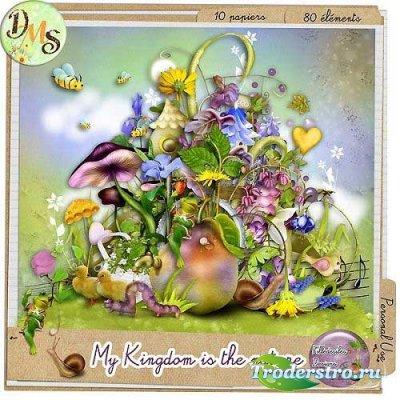 Детский сказочный скрап-набор - Мое королевство - Природа