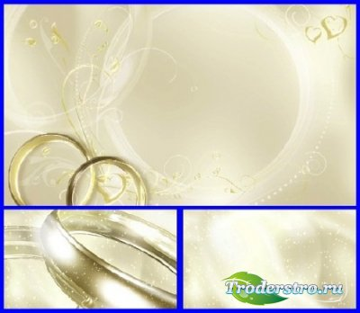 Подборка свадебных футажей-фонов