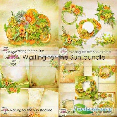 Цифровой скрап-набор - В ожидании солнца
