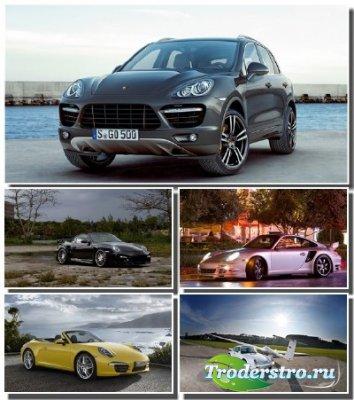 Автомобили марки Porsche в коллекции новых обоев