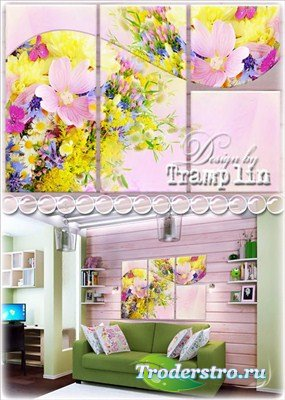 Триптих – Полевые цветы