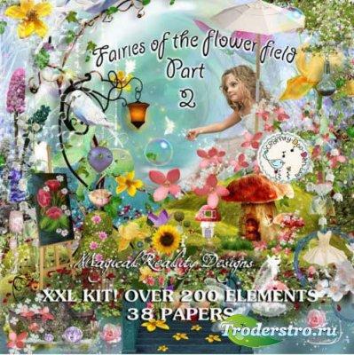 Сказочный скрап-набор - Цветочные феи
