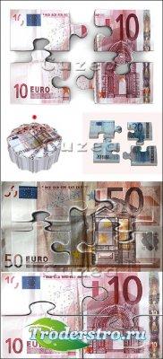 Stock photo - Денежные пазлы/ Money Puzzle