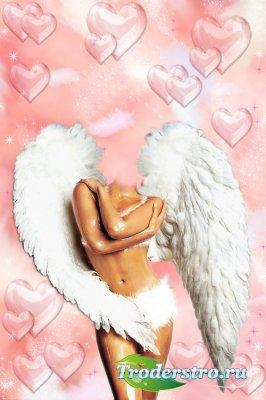 Женский шаблон - Ты мой ангел