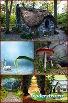 Фоны для фотошопа - Волшебная фантазия 4