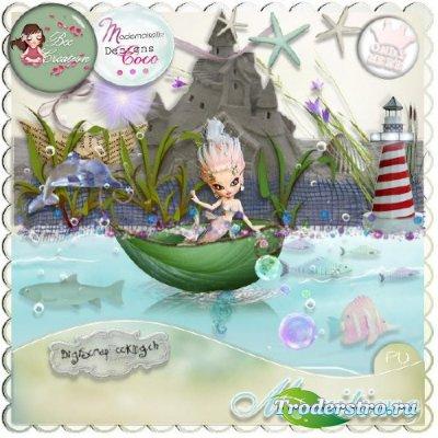 Детский скрап-набор - Морской