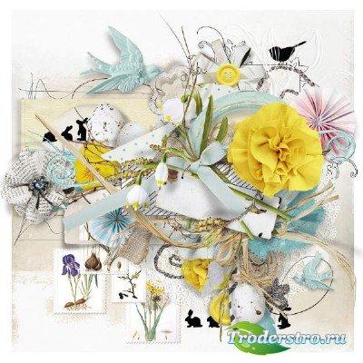 Скрап-комплект - На пороге весна