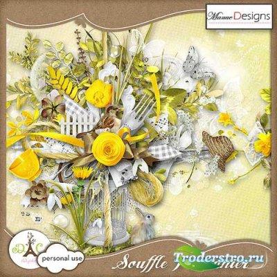Весенний скрап-набор - Дыхание весны
