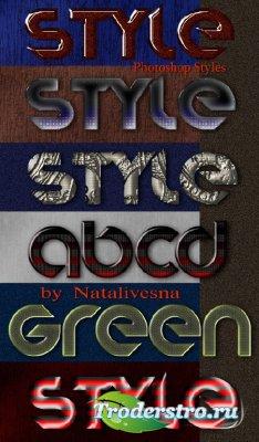 Стили для Дизайна – С эффектом металла
