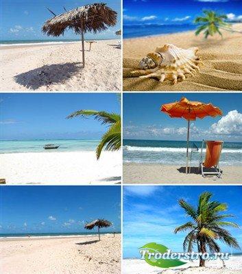 Летние пляжные фоны
