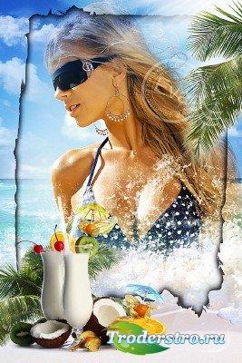 Рамочка для фотографий - Море, солнце и отдых