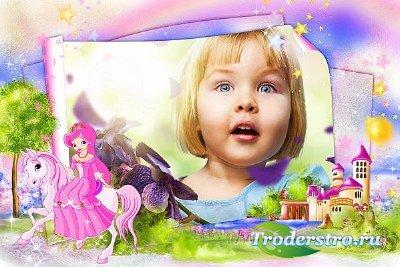 Детская рамка для фотографий - Сказочная страна