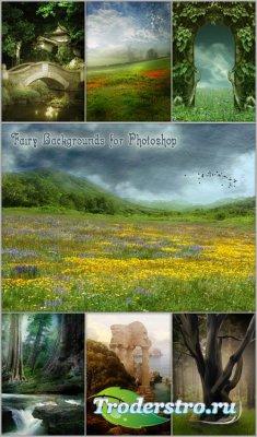 Сказочные фоны для Photoshop