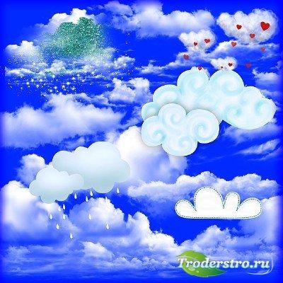 Клипарт - Облака