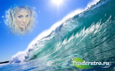 Рамка для фото - Океанская волна